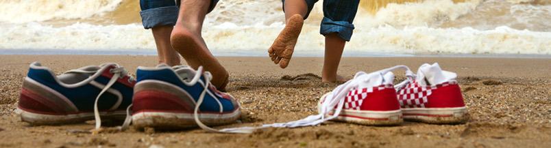 Banner - Feet By Ocean