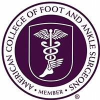 Member of American College of Foot and Ankle Surgeons